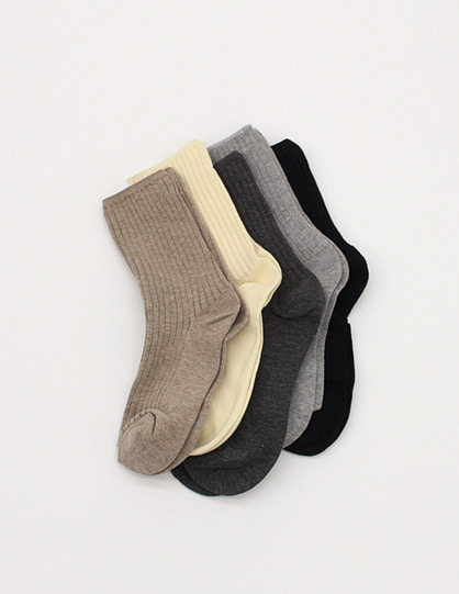 sandra socks (5color)