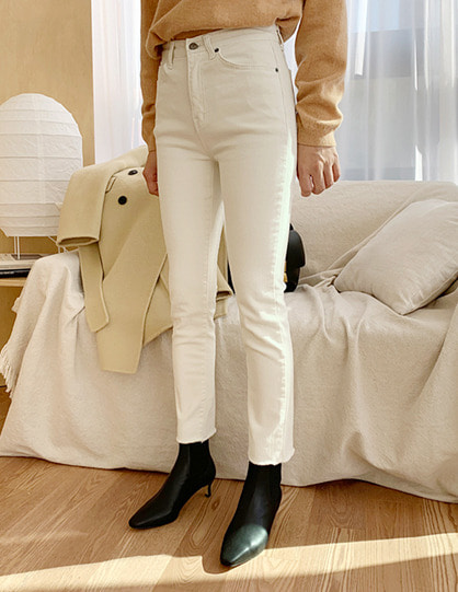 nap skinny jeans (2color)