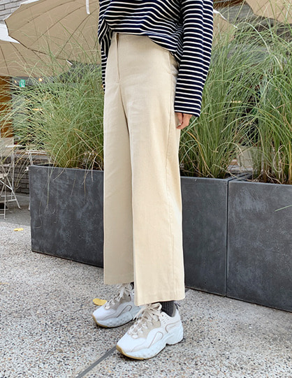 standard corduroy pants (3color)