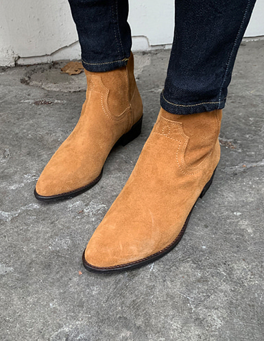 suede sharp boots