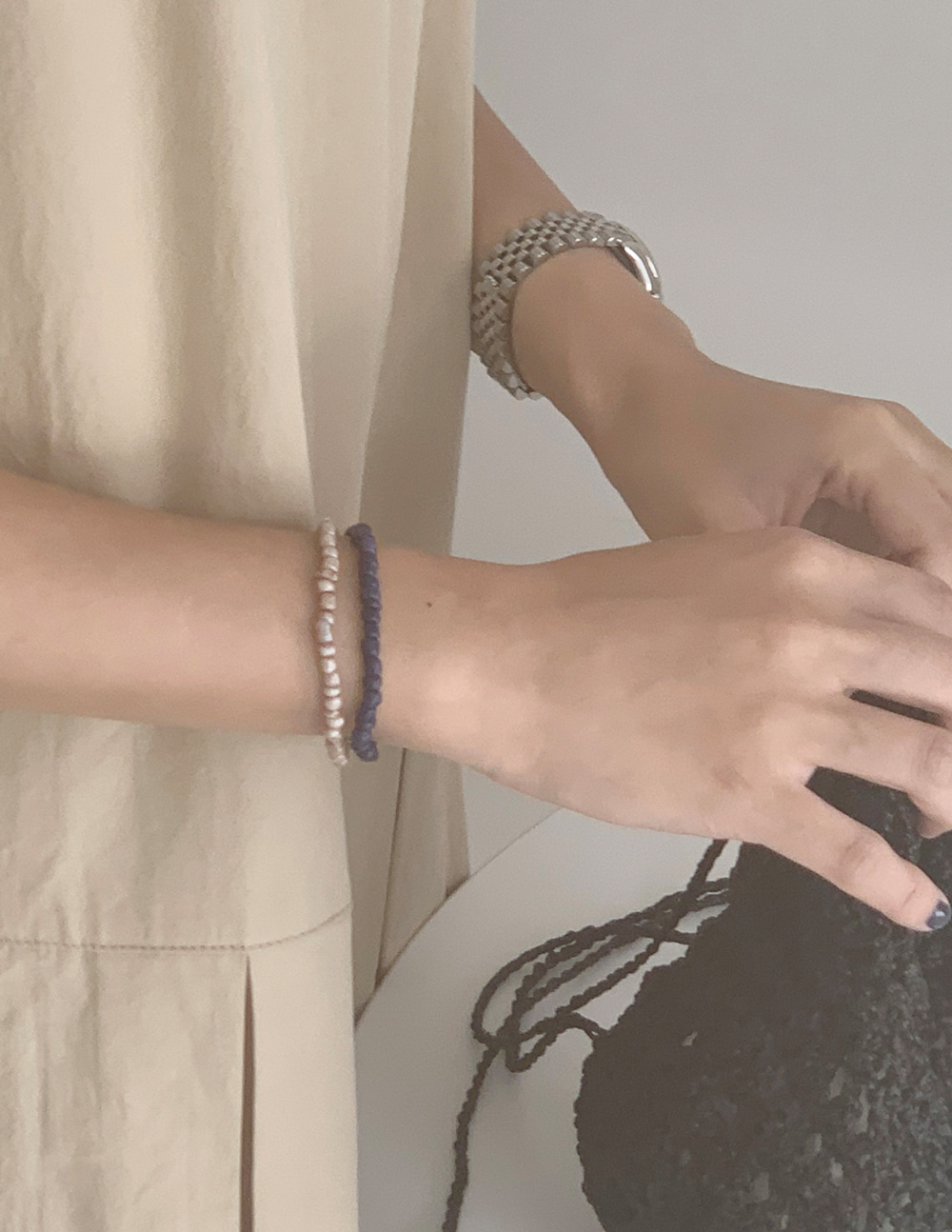 tan bracelet (2color)