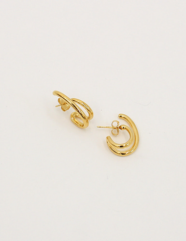 two ring earring